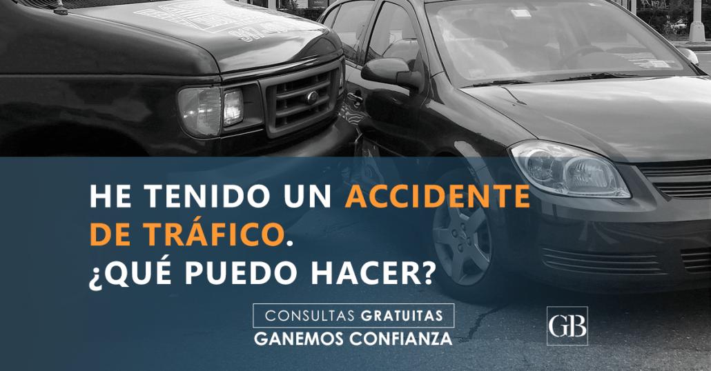accidente de tráfico García Blanes Abogados